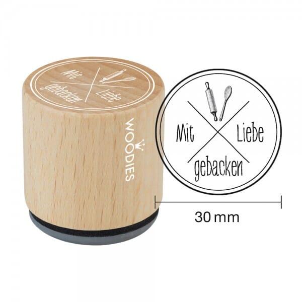 Woodies Stempel - Mit Liebe gebacken bei Stempel-Fabrik