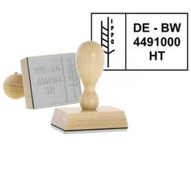 IPPC Holzstempel