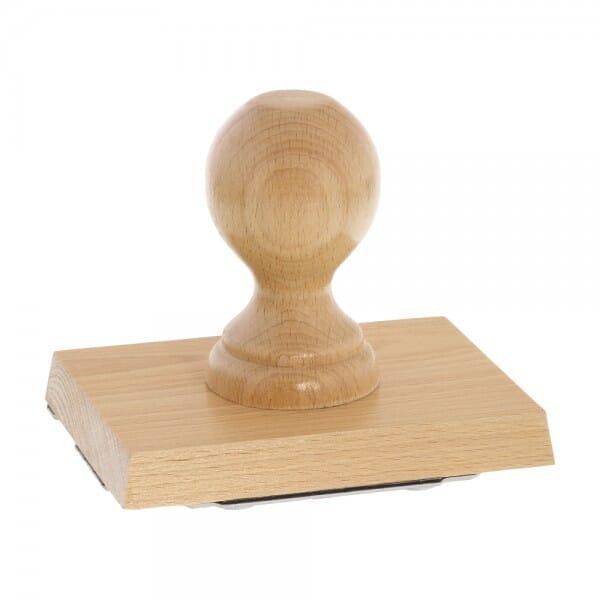 Holzstempel (120x90 mm - 18 Zeilen)