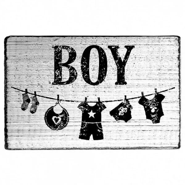 "Vintage Stempel ""Boy"""