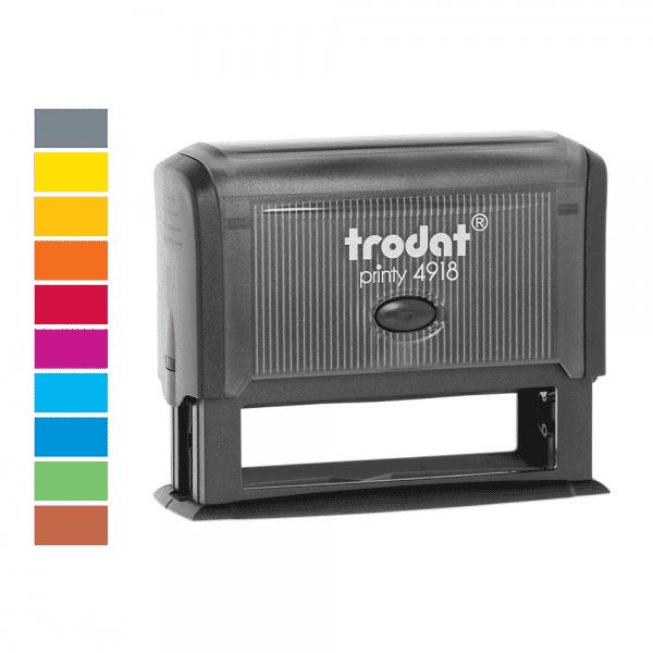 Trodat Printy 4918 Premium (75x15 mm - 5 Zeilen) bei Stempel-Fabrik