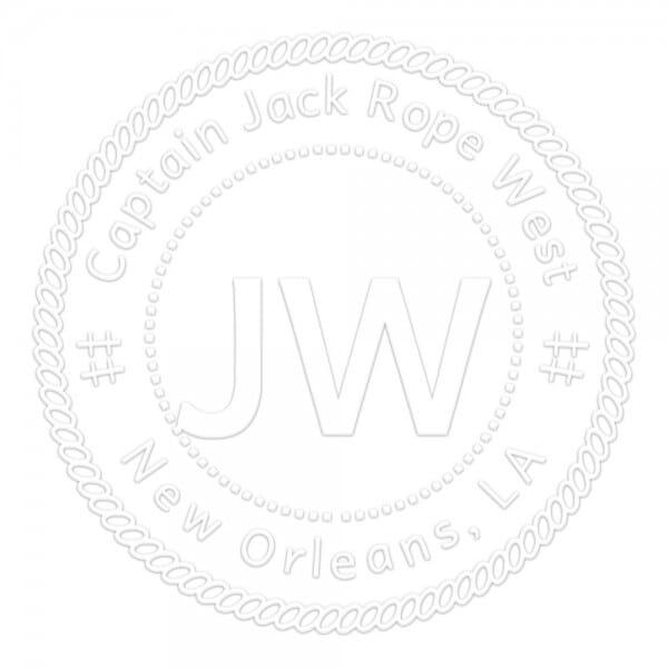 Monogramm-Prägezange 51 mm rund - Marine Dekoration