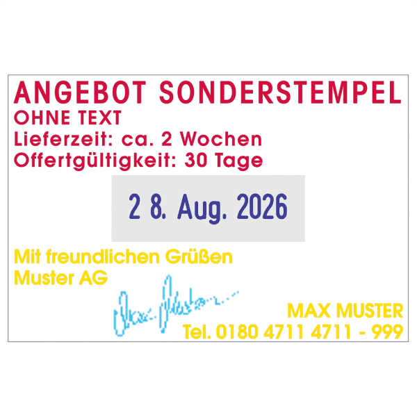 Trodat Printy 4727 MCI (60x40 mm - 6 Zeilen)