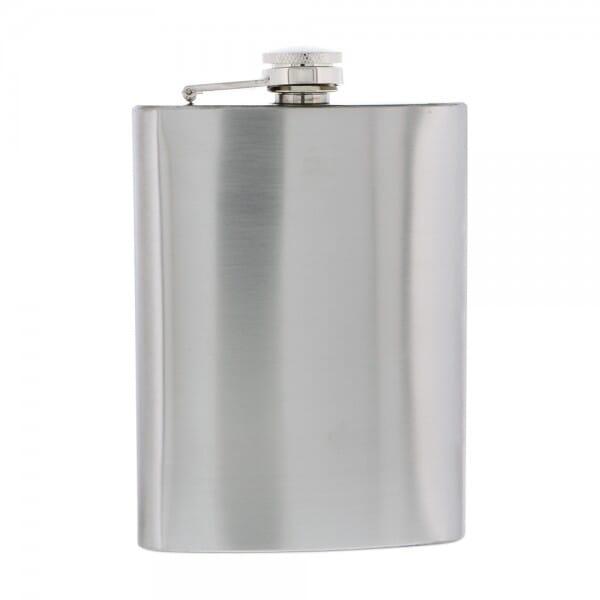 Flachmann Metall (Gravurmaß 60x100 mm -237 ml)