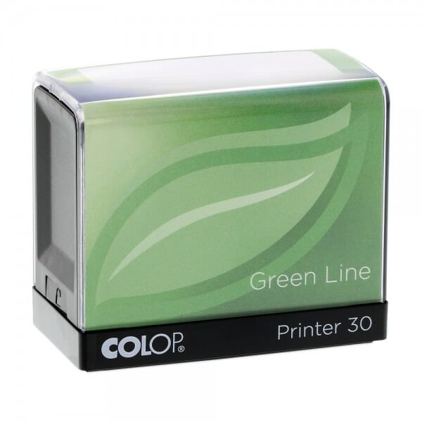 Colop Printer 30 Green Line (47x18 mm - 5 Zeilen)