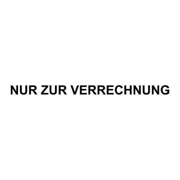 Holzstempel (55x9 mm - 1 Zeile)