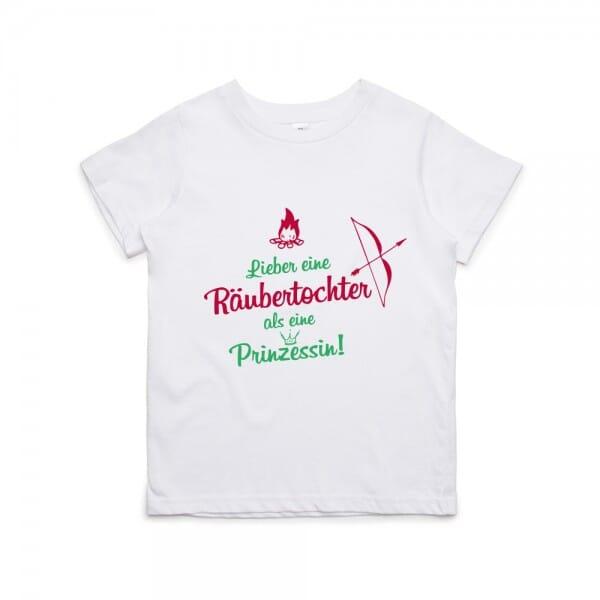 "Kinder T- Shirt ""Räubertochter"""