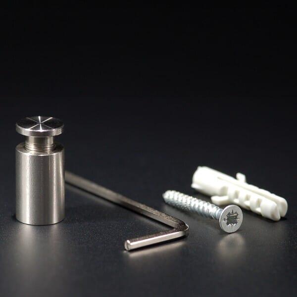 Abstandhalter Edelstahl VA roh Ø 10 mm WA:15 mm PS: 2-10 mm bei Stempel-Fabrik