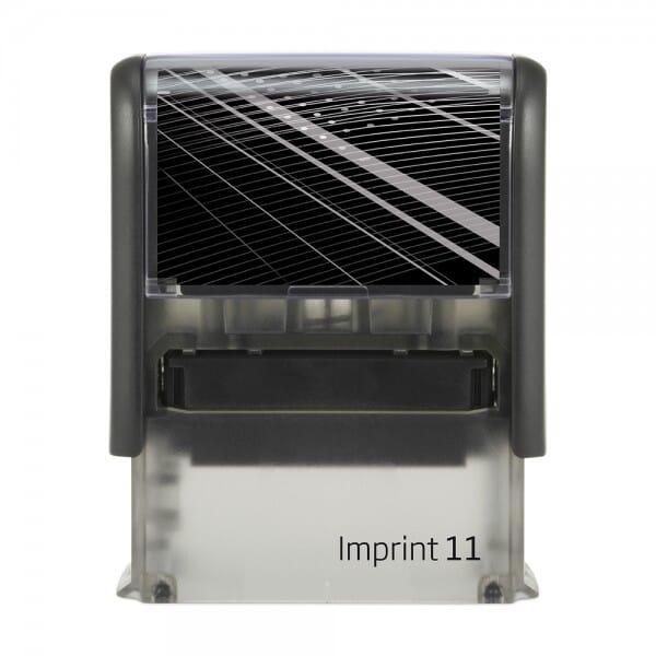 Dormy Imprint 11 (37x14 mm - 4 Zeilen)