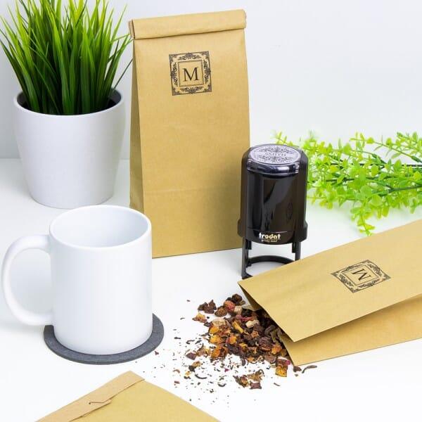 "Teetüten - Blockbodenbeutel - ""Tütle"" (1,7 Liter - 250 Stück)"