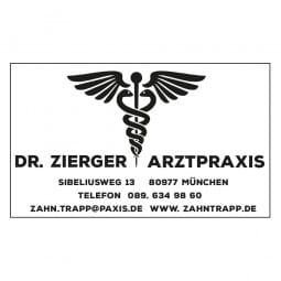 Arztstempel Adresse Holzstempel / Selbstfärber (50x30 mm - 6 Zeilen)