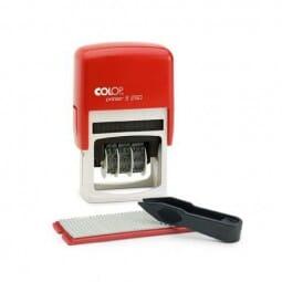 SALE - Colop Printer S260 SET ROT (45x24 mm - 4 Zeilen)