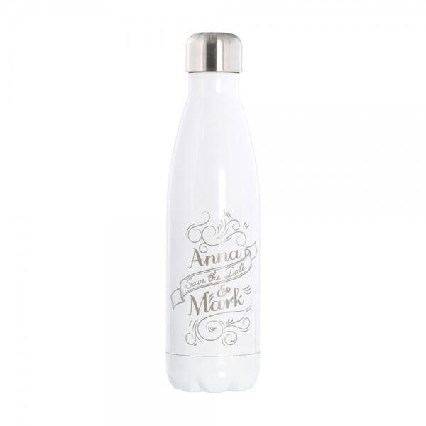 Special Edition - Isolierte Trinkflasche aus Edelstahl (Gravurmaß 11x8 cm)