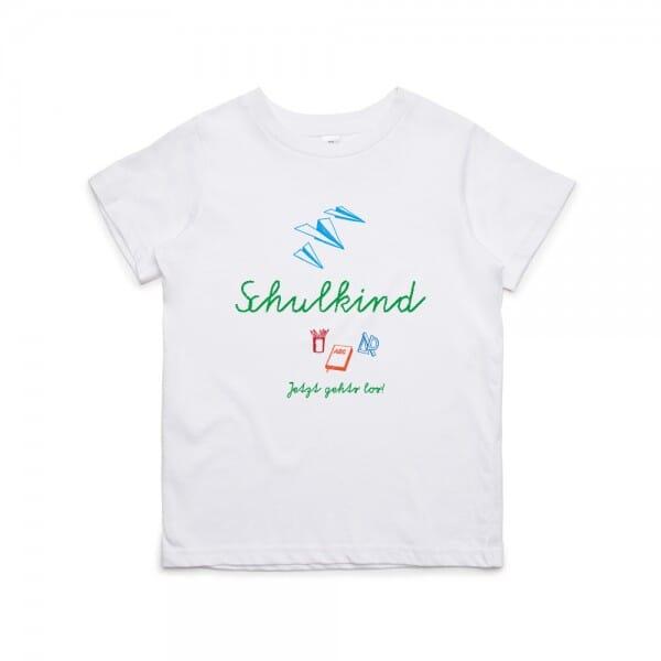 "Kinder T- Shirt ""Schulkind - Jetzt geht´s los"""