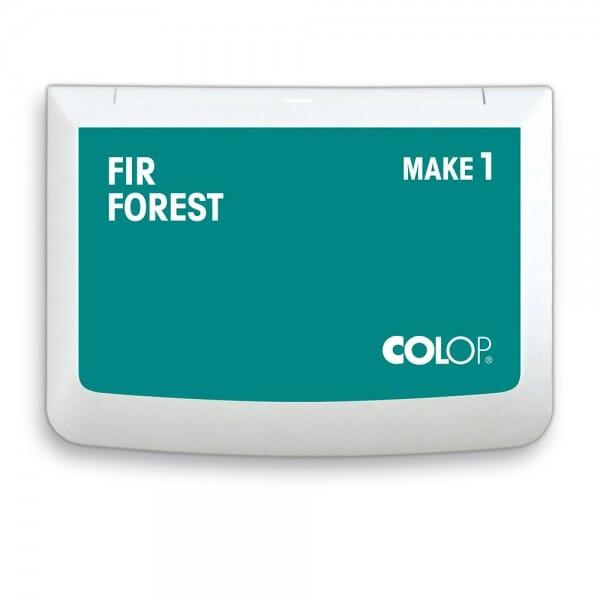 """COLOP Stempelkissen MAKE 1 """"fir forest"""" (90x50 mm)"""