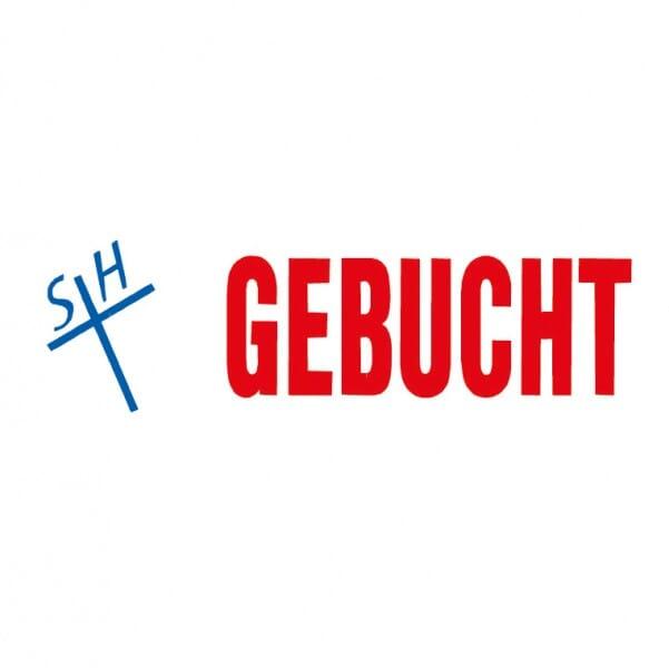 "Trodat Office Printy Textstempel ""Gebucht"" 4912 (47x18 mm)"