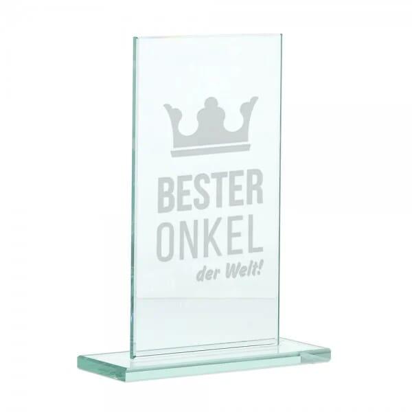 "Glasständer ""Bester Onkel"""