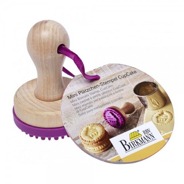 Birkmann Keksstempel mit Cupcake Motiv (Ø50 mm) bei Stempel-Fabrik