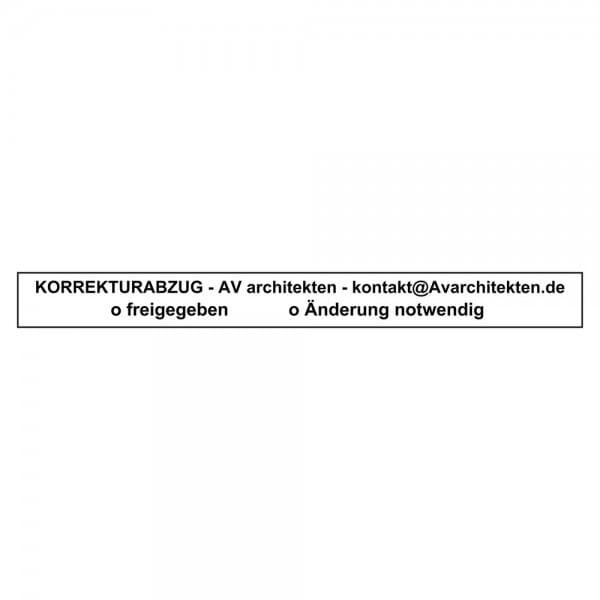 Holzstempel (190x20 mm - 4 Zeilen)