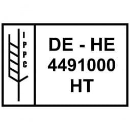 IPPC Holzstempel (60x40 mm)