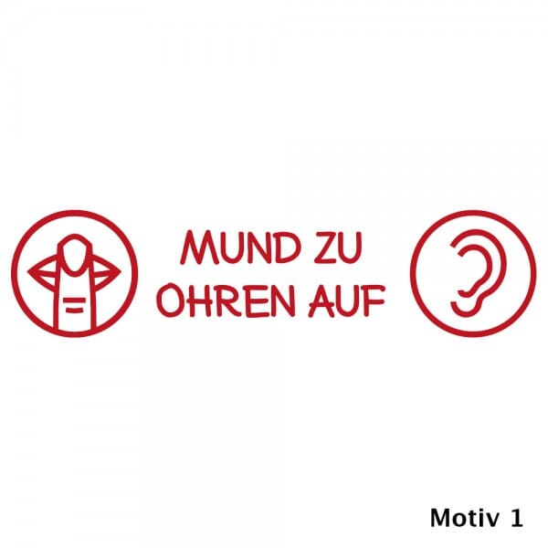 Holzstempel Pädagogik (70x20 mm)