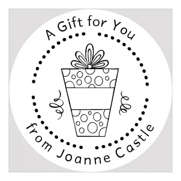 Monogramm-Prägezange rund - Ein Geschenk für dich!