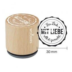 Woodies Stempel - Für Dich mit Liebe selbstgemacht