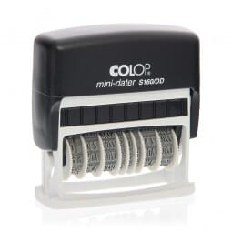 SALE - Colop Mini-Dater S 160/DD (49x3,5 mm - 1 Zeile)