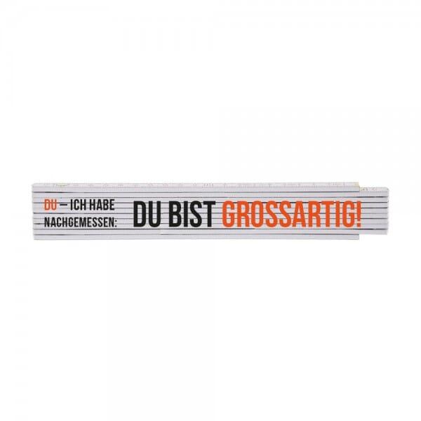 """Zollstock """"Du - Freundschaft"""""""