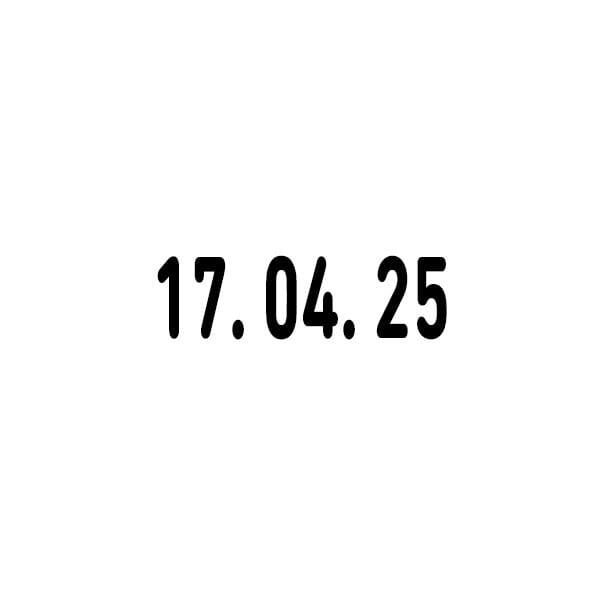 Trodat Classic Datumstempel 1014 (19x4 mm)
