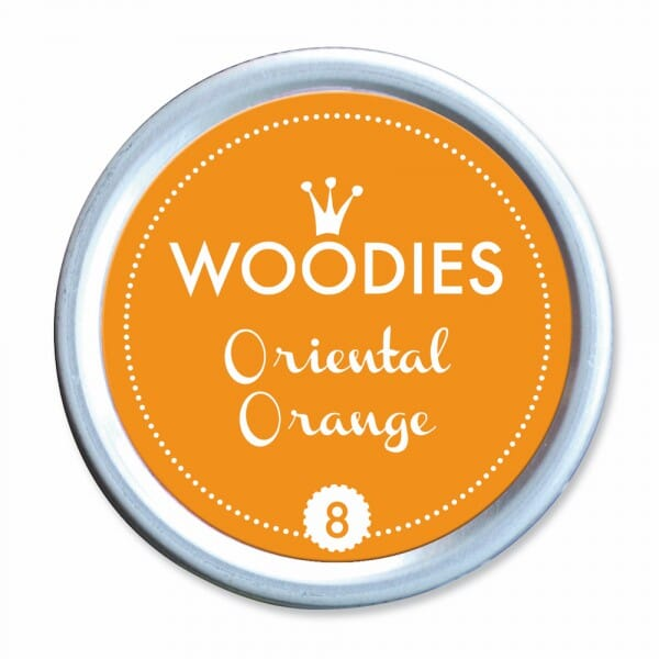 Woodies Stempelkissen - Oriental Orange bei Stempel-Fabrik