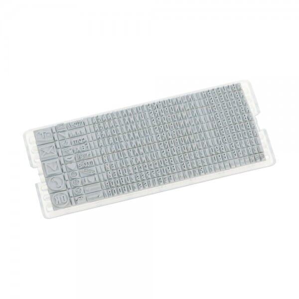 Ersatzreihung für Colop Typenset (SH 3,5 mm)