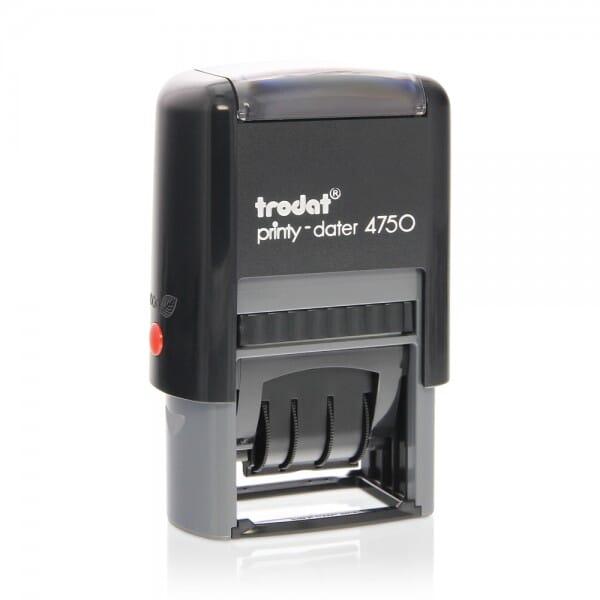 Trodat Printy Classic 4750/L Dater (41x24 mm) bei Stempel-Fabrik