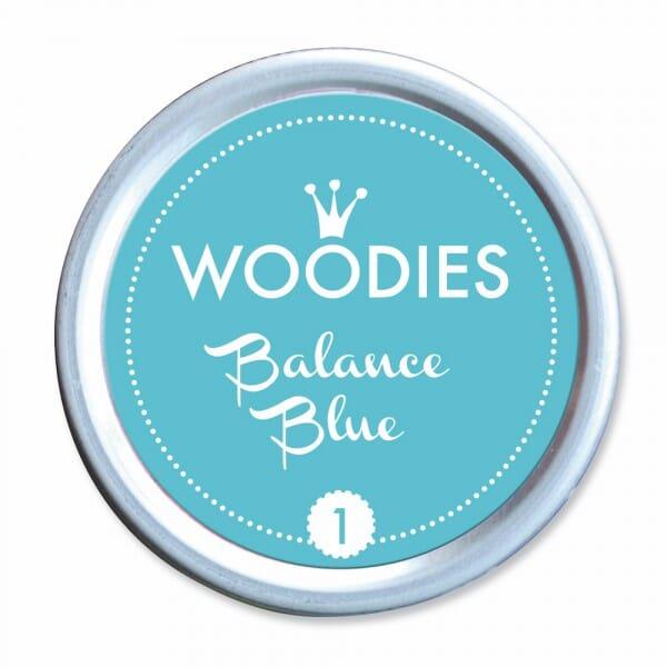 Woodies Stempelkissen - Balance Blue bei Stempel-Fabrik