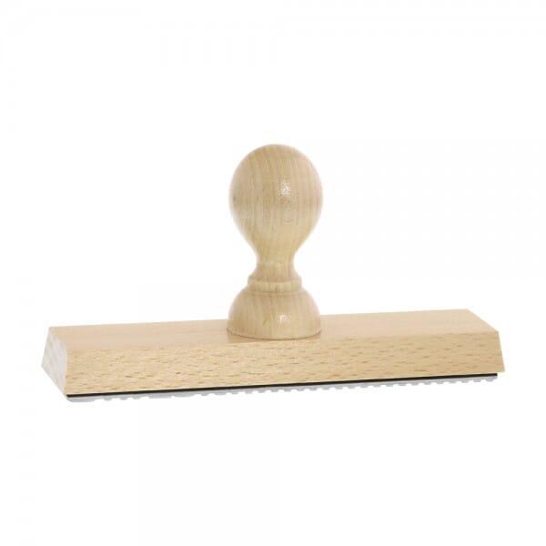 Holzstempel (160x40 mm - 8 Zeilen)