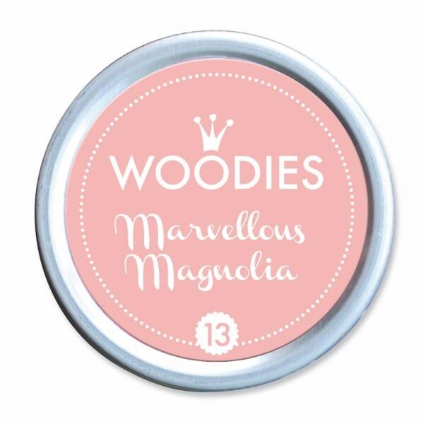 Woodies Stempelkissen - Mervellous Magnoli bei Stempel-Fabrik