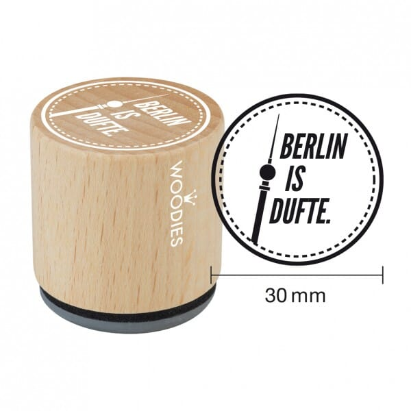 Woodies Stempel - Berlin is Dufte bei Stempel-Fabrik