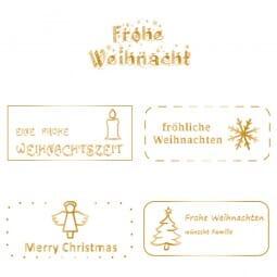 Colop EOS50 FK Sale mit Weihnachtsmotiv (69x30 mm)