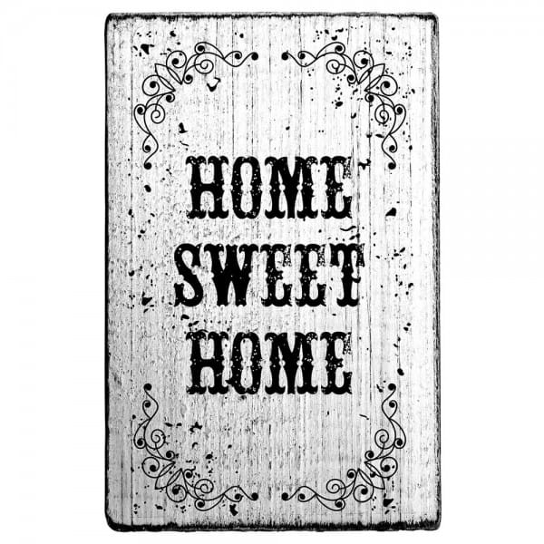 "Vintage Stempel ""Home sweet home"""