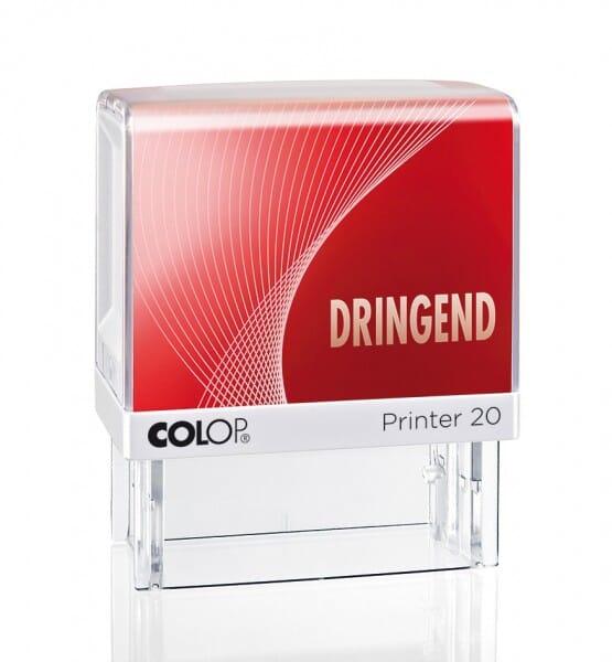 Colop Printer 20 LGT DRINGEND (38x14 mm) bei Stempel-Fabrik