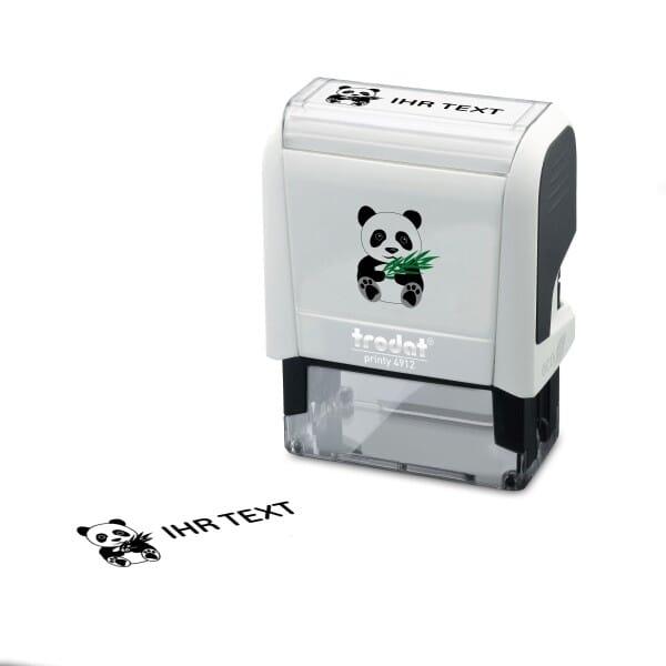 """Namensstempel """"Panda"""" Trodat Printy 4912"""