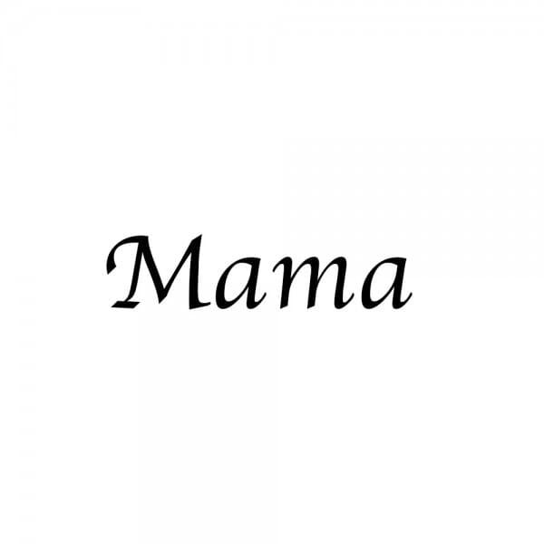 Motiv-Schlüsselanhänger Herz / Mama