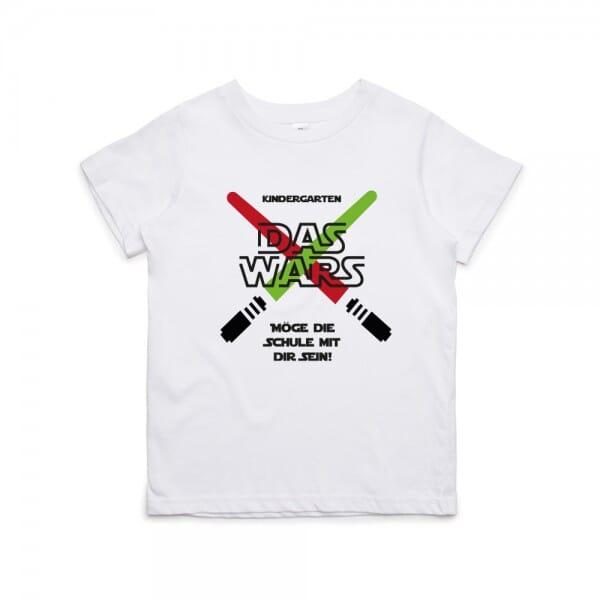 """Kinder T- Shirt KIndergarten """"DAS WARS"""""""