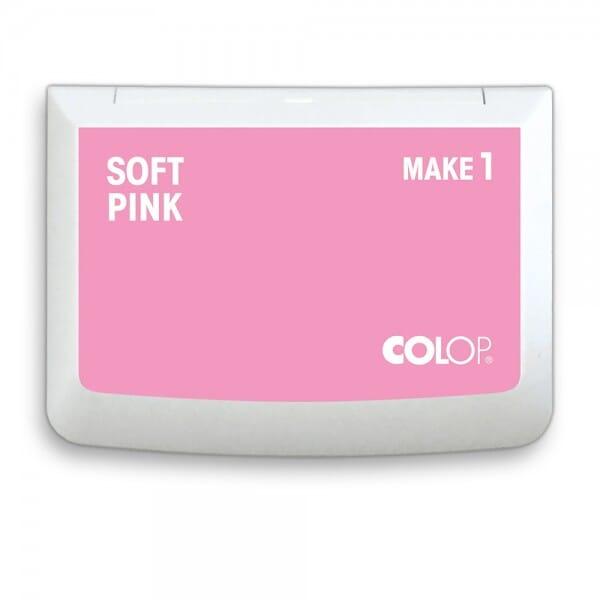 "COLOP Stempelkissen MAKE 1 ""soft pink"" (90x50 mm)"