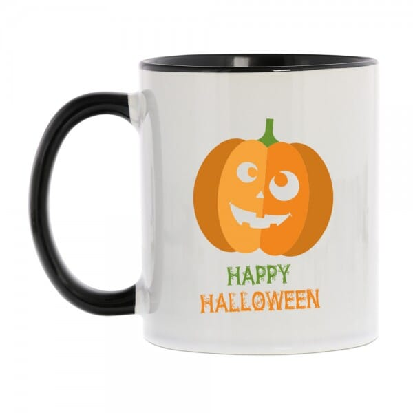 "Keramiktasse Halloween ""Happy Halloween"""