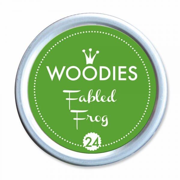 Woodies Stempelkissen - Fabled Frog bei Stempel-Fabrik