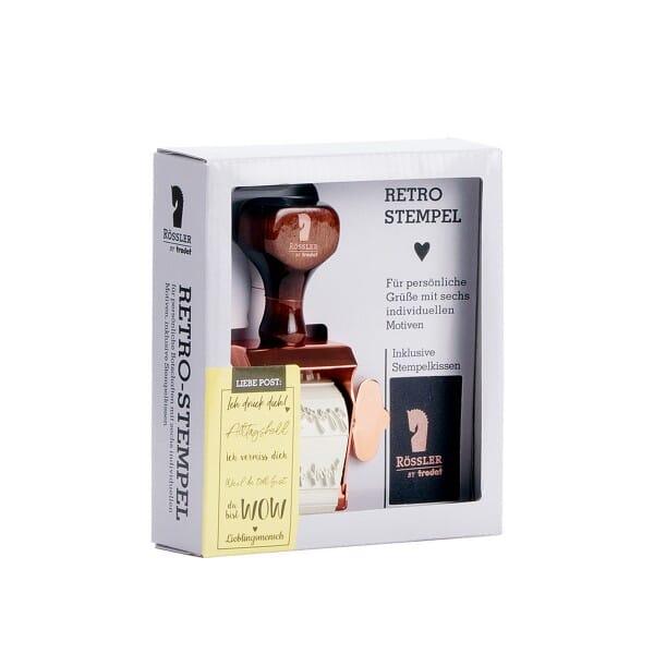 Retro Stempel - Stempelset Liebe Post