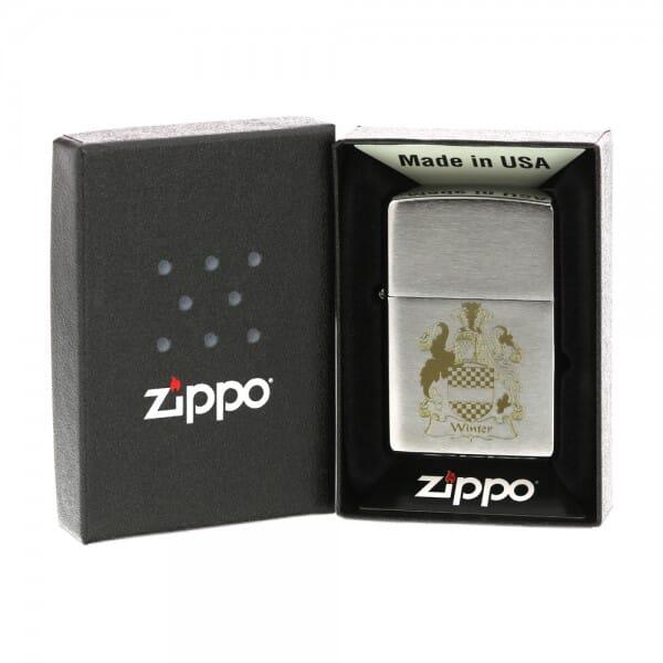 Zippo Feuerzeug (Gravurmaß 33x33 mm)