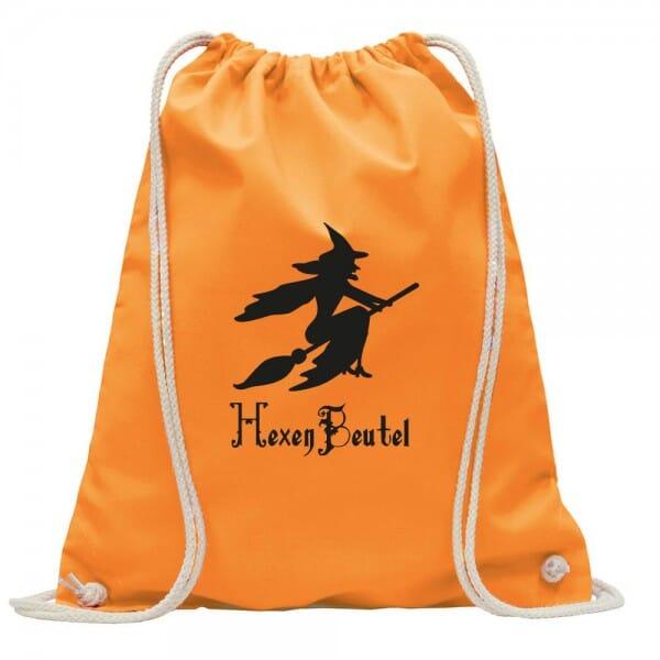 """Turnbeutel-Rucksack Halloween """"Hexe"""""""