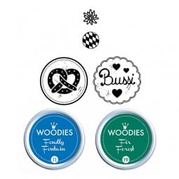 Woodies Stempel SET - Bayern WS0011